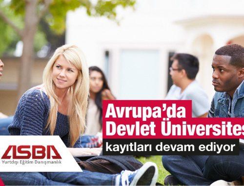 Avrupada Üniversite Eğitimi