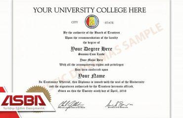 Üniversite Diplomasına Sahip Olmak