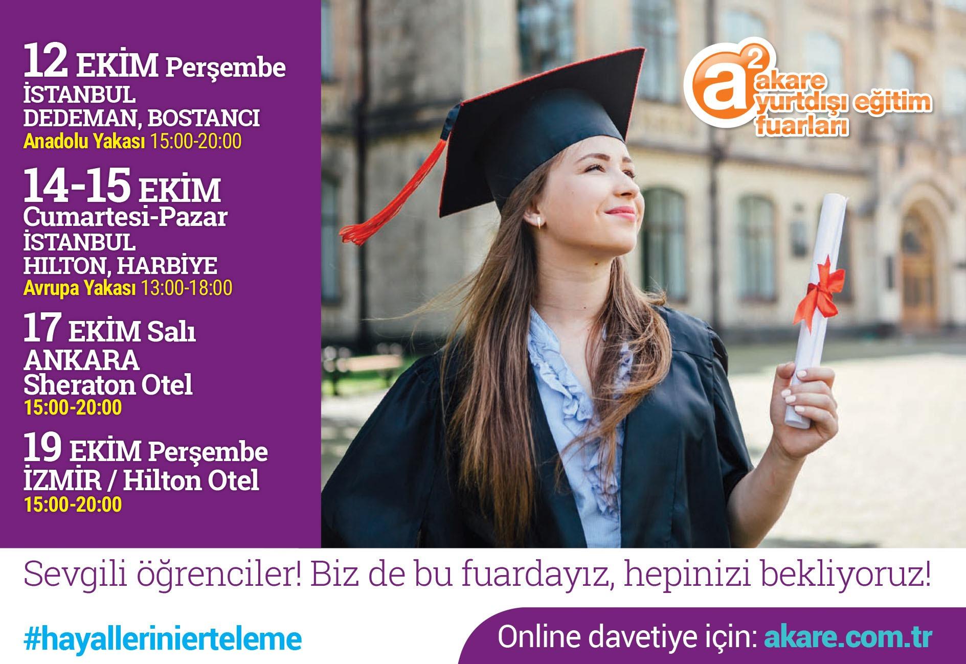 a² Yurtdışı Eğitim Fuarı
