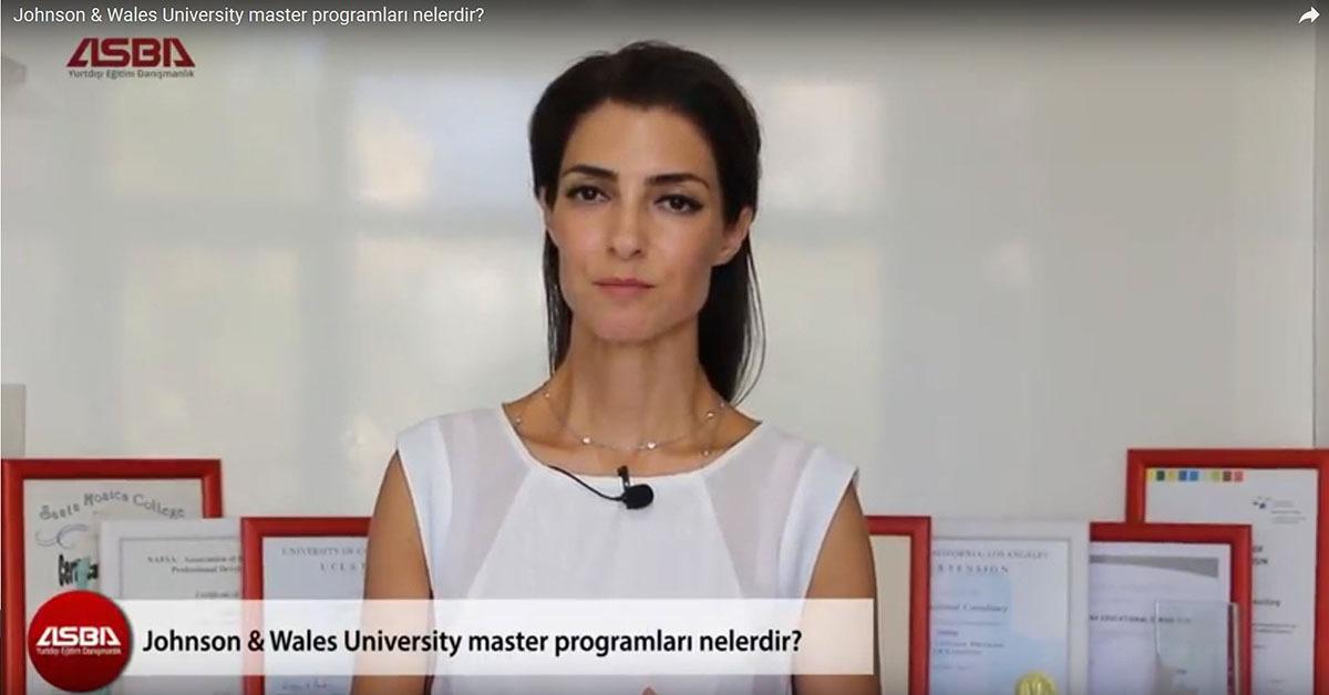 Johnson - Wales University master programlari nelerdir