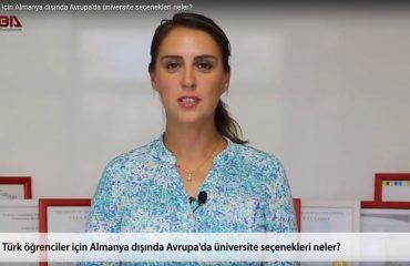 Turk ogrenciler icin almanya disinda avrupada universite secenekleri neler