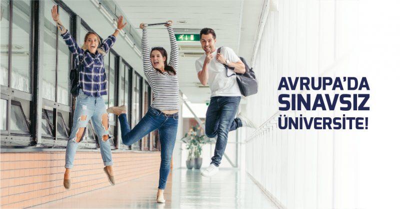 Avrupada Sınavsız Üniversite