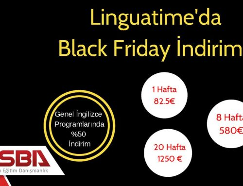 Linguatime'da Black Friday İndirimi!