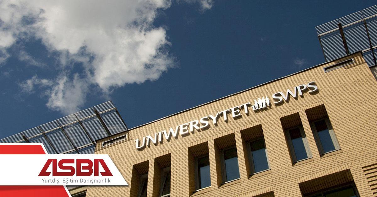 Varsova Sosyal Bilimler ve Psikoloji Universitesi- SWPS